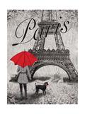Strolling Paris II Affiches par Todd Williams
