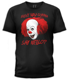 IT- Say Hello to Pennywise Camiseta