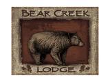 Bear Creek - Mini Poster par Todd Williams