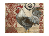 Classic Rooster II Poster von Kimberly Poloson