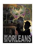 La Nouvelle-Orléans Poster par Todd Williams