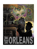 New Orleans Poster di Todd Williams