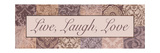 Live, Laugh, Love Photographic Print by Todd Williams