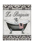 La Baignoire Poster af Todd Williams