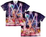 Clubbing Cats (Front/Back) Sublimated