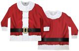 Long Sleeve: Big Sized Santa Ugly Sweater (Front/Back) Lange ærmer