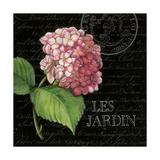 Les Jardin Geranium Sq. Kunst von Kimberly Poloson