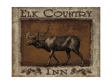 Elk Country - Mini Plakater af Todd Williams