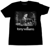 Tony Williams- Drum Solo Portrait Shirt