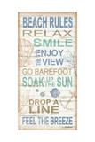 Beach Rules Art par Todd Williams