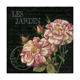 Les Jardin Roses Sq. Poster von Kimberly Poloson
