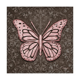 Pink Butterfly IV Stampe di Todd Williams