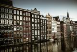 Amsterdam's Dancing Houses Reproduction photographique par Erin Berzel