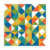Bright Geometrics II Prints by N. Harbick