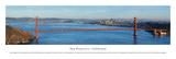 San Francisco - Golden Gate (Day) Posters af Christopher Gjevre
