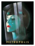 Metropolis - Directed by Fritz Lang Kunstdrucke von Werner Graul