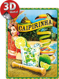 Caipirinha Tin Sign