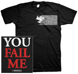 Converge- You Fail Me Redux (Front/Back) Tshirts