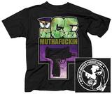 Ice T- Muthafuckin Uzi (Front/Back) T-skjorter