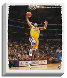 Kobe Bryant Dunk Stretched Canvas Print