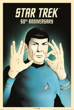 Star Trek: 50th Anniversary- Spock 5-Oh Posters
