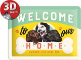 Welcome Puppies Peltikyltti