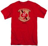 Battlestar Galactica- Red Aces Badge T-Shirt