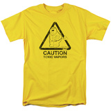 Family Guy- Caution Toxic Vapors T-shirts