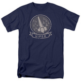 Battlestar Galactica- Viper Squad Insignia Badge T-shirts