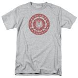 Battlestar Galactica- Distressed Logo Emblem Shirts