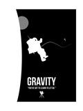 Gravity Kunst op gespannen canvas van David Brodsky