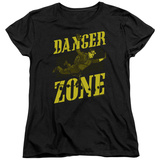 Womens: Archer- Flying In The Danger Zone T-Shirt