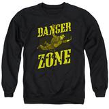 Crewneck Sweatshirt: Archer- Flying In The Danger Zone T-shirts