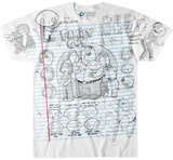 Family Guy- Family Guy Sketch Shirt