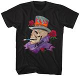 Poison- Skull Smokin Poison T-paita