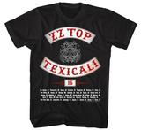 ZZ Top- Texicali Magliette