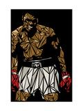 Muhammad Ali Print by Cristian Mielu