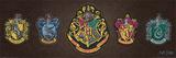 Harry Potter- Crests Print