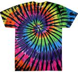Rainbow Spiral Streak T-Shirt