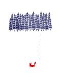Alone in the Forest Kunst av Robert Farkas