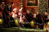 Classic Interlude Christmas Kunstdruck von Chris Consani