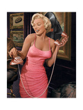 Marilyn's Call Giclée-Premiumdruck von Chris Consani
