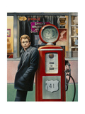 Destiny James Dean Poster von Chris Consani