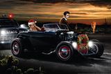 Joy Ride Christmas Posters tekijänä Helen Flint