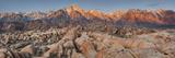 Mount Whitney, Alabama Hills, Near Lone Pine, Sierra Nevada, California, Usa Photographic Print by Rainer Mirau