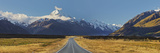 Aoraki, Mount Road Cook, Mount Cook National Park, Canterbury, South Island, New Zealand Photographic Print by Rainer Mirau