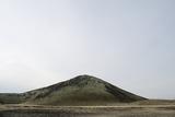 Lava Fields and Hill, Route 574, Neshraun, Saxholar, Snaefellsnes, West Iceland Reproduction photographique par Julia Wellner