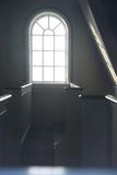 Inside Church Saurbaejarkirkja, Raudissandur, Westfjords, West Iceland Reproduction photographique par Julia Wellner