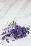 Lavender, Blossoms, Smell, Bunch, Wood Photographic Print by Andrea Haase