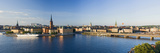 Sweden, Stockholm, City View, MŠlar-See, Panorama Photographic Print by Rainer Mirau